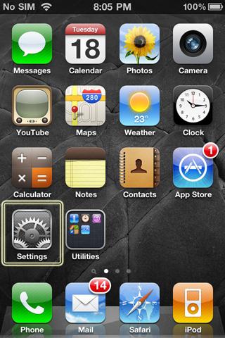 Portable Wifi For iPad Step 1