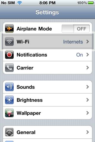 Portable Wifi For iPad Step 2