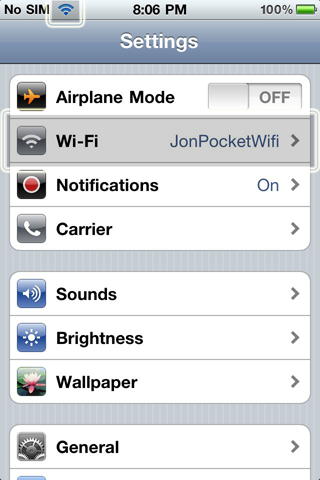 Portable Wifi For iPad Step 4