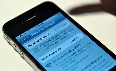 iPhone 4 Wireless Hotspot